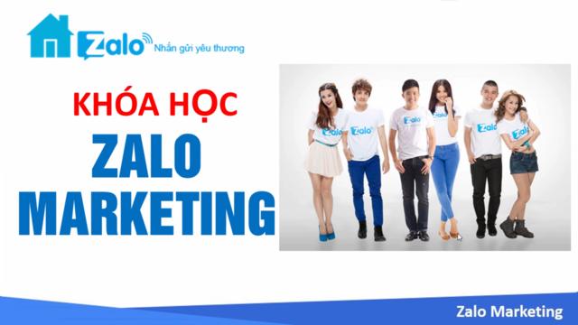 khóa học zalo marketing online bình dương
