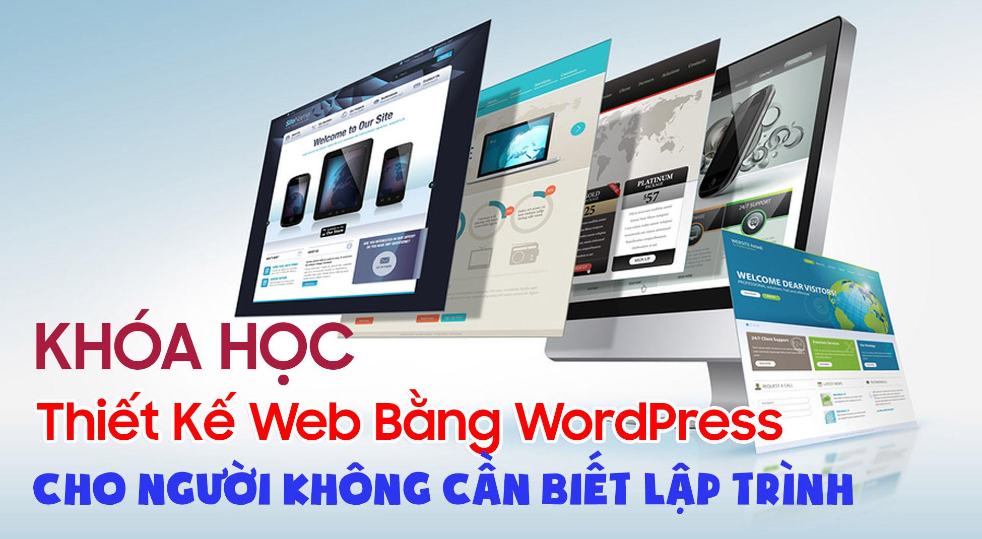 khóa học thiết kế web online hậu giang